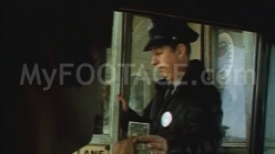 1970 Policeman Tollbooth Window