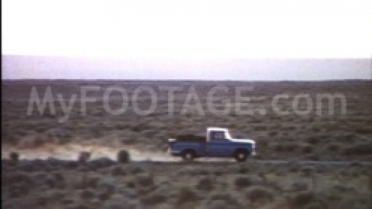 1971 Chevy Pickup Truck in Desert