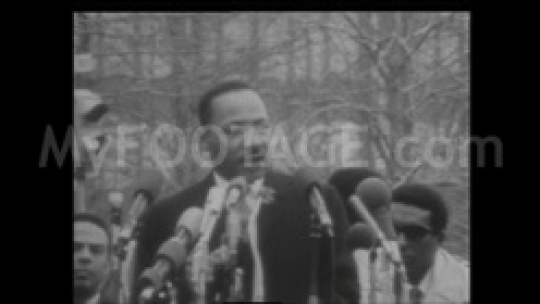"MLK Speech ""Stop the bombings and stop the war"""